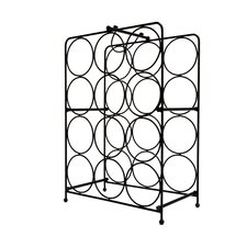 Napoli 12 Bottle Tabletop Wine Rack