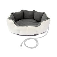 Warm Soft Heated Pet Bed