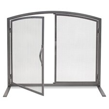 Shadow 1 Panel Fireplace Screen