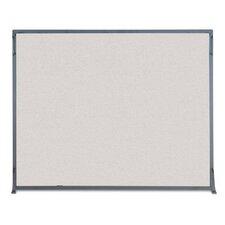 Flat 1 Panel Steel Fireplace Screen