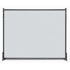 Contemporary 1 Panel Fireplace Screen