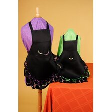 Fine Linen Fall All Over Witches Hats Child Apron