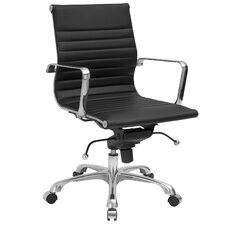 Mid-Back Executive Office Chair with Arms