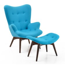 Auzzie Lounge Chair and Ottoman