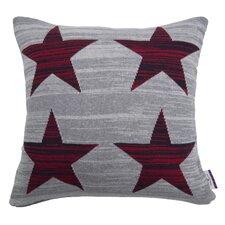 Kissenbezug Red Stars aus 100% Baumwolle