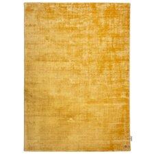 Handgewebter Teppich Shine in Gelb
