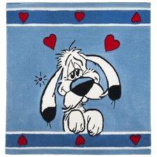 Handgetufteter Kinderteppich Acrylus in Blau