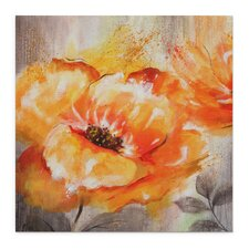 """""""Orange Crush I"""" by Nan F Painting Print on Wrapped Canvas"""
