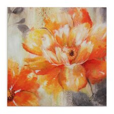 """""""Orange Crush II"""" by Nan F Painting Print on Wrapped Canvas"""