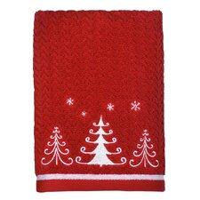 Trio Trees Hand Towel (Set of 4)
