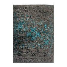 Handgefertigter Teppich Cocoon 991 in Blau