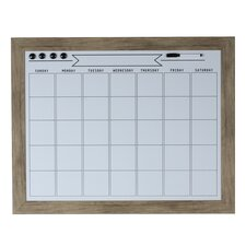 Beatrice Magnetic Wall Mounted Organization Board, 2.5' x 1.11'