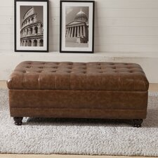 Classic Upholstered Storage Bedroom Bench