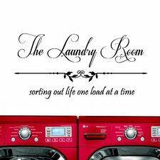 The Laundry Room, Sorting Out Life... Wall Decal