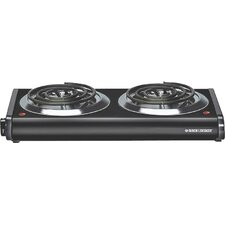 Black & Decker Double Burner