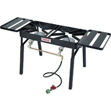 Double Propane Burner Outdoor Stove