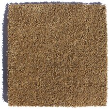 "Zen Residential 24"" x 24"" Carpet Tile in Brown"