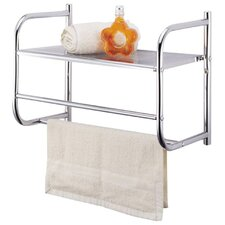 Wall Towel Rack with Shelf