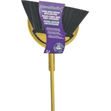 Large Angle Broom with Dustpan