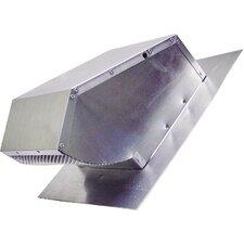 "14"" Range Hood Roof Cap Damper"