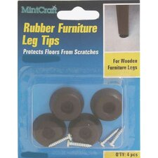 Rubber Leg Tip (Set of 4)