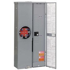 200 Amp Manual Transfer Switch with Combo Service Entrance Device