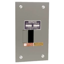 70 Amp Manual Transfer Switch with Main Lug Load Center