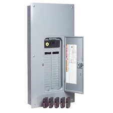 200 Amp Manual Transfer Switch with Breaker Value Load Center