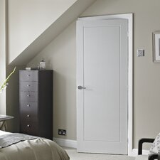 Wood 1 Panel White Internal Door
