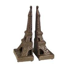Eiffel Tower Book Ends (Set of 2)