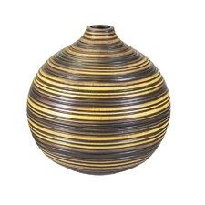 Wood Look Resin Vase