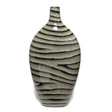 Malcolm Striped Bottle Vase