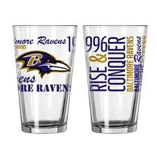 NFL 16 Oz. Pint Glass (Set of 2)