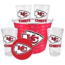 NFL 9 Piece Gift Bucket Set