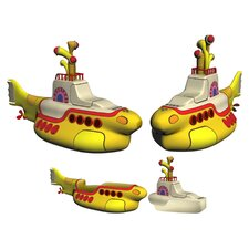 Beatles Yellow Submarine Salt and Pepper Shakers