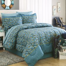 King Peacock 6 Piece Bed in a Bag Set
