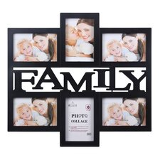 6-Photo Collage Picture Frame