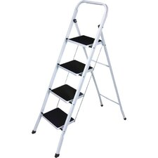 4-Step Steel Heavy Duty Step Stool with 250 lb. Load Capacity