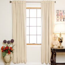Blackout Rod Pocket Curtain Panel (Set of 2) (Set of 2)