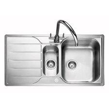 95 cm x 50,8 cm Küchenspüle Michigan