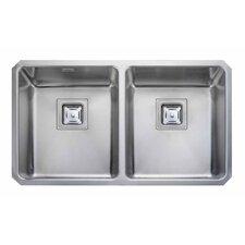76 cm x 45 cm Küchenspüle Quad