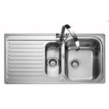 98,5 cm x 50,8 cm Küchenspüle Sedona