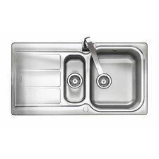 95 cm x 50,8 cm Küchenspüle Glendale