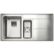98,5 cm x 50,8 cm Küchenspüle Arlington