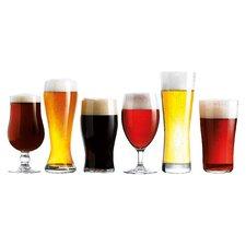 Craft Brew 6 Piece Beer Glass Set