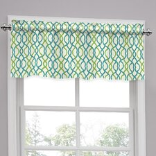 "Make Waves Tailored 52"" Curtain Valance"