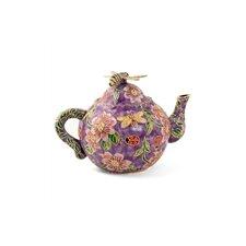 Imperial Enameling Decorative Cloisonne Bumble Bee Teapot