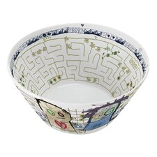 Poul Pava be Friends Labyrinth Bowl (Set of 2)