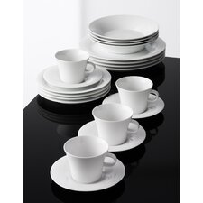Odgard 20 Piece Porcelain Dinnerware Set