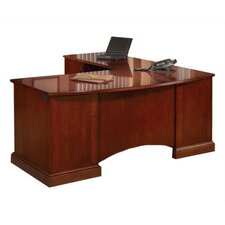 Belmont Executive Desk with Return